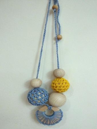 Margele albastru-galben